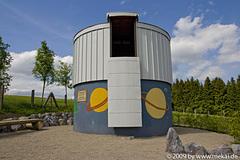 Schul- und Volkssternwarte im Schullandheim in Heubach