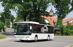 Moderner Bus